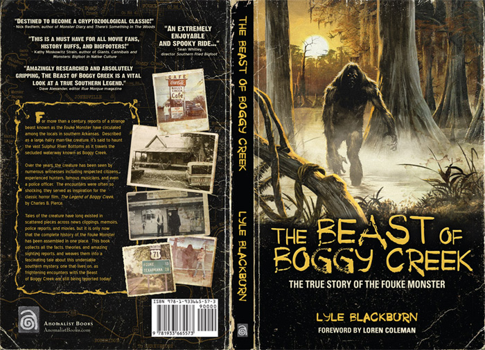 The Beast of Boggy Creek Book - Click to Close