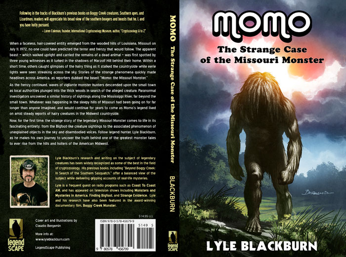Momo: The Strange Case of the Missouri Monster Book - Click to Close