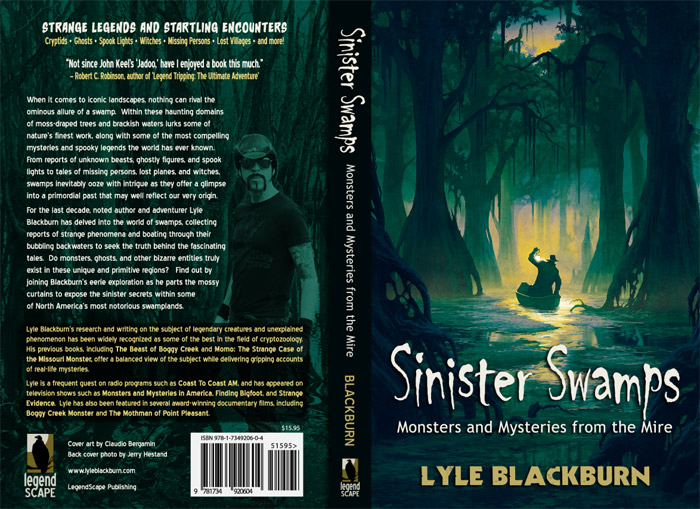 Sinister Swamps: Monsters and Mysteries from the Mire Book - NEW! - Click to Close