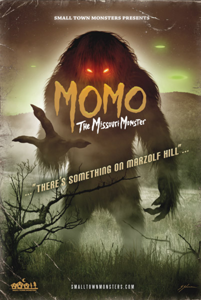 MOMO the Missouri Monster DVD - Click to Close
