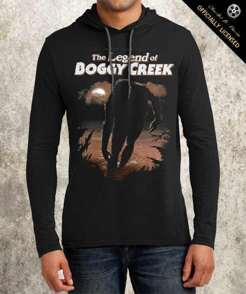 Legend of Boggy Creek Hooded Longsleeve - Click to Close