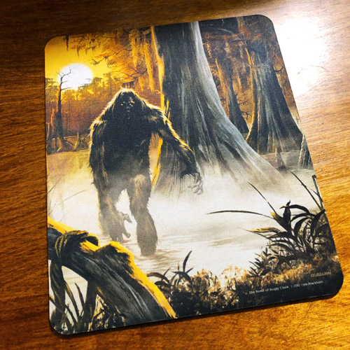 Beast of Boggy Creek Mousepad - Click to Close