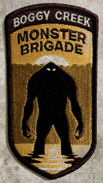 Boggy Creek Monster Brigade Patch