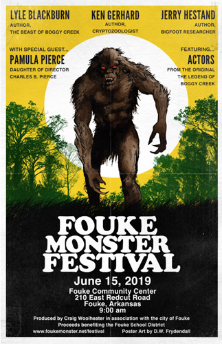 Fouke Monster Festival Poster - Click to Close