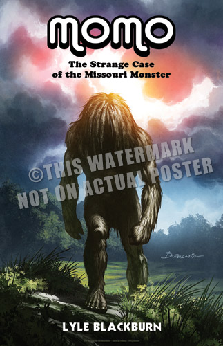 Missouri Monster Book Cover Poster - Click to Close