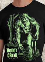 Boggy Creek Swamp Stalker Glow Shirt